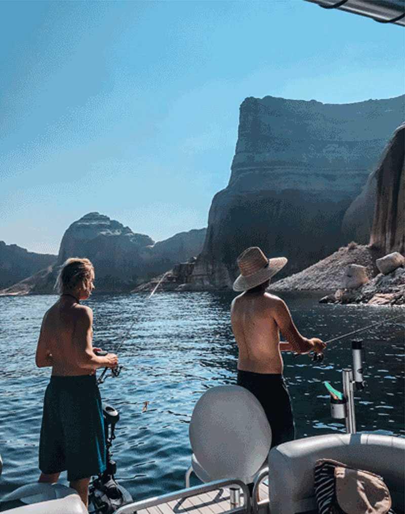 men doing fishing